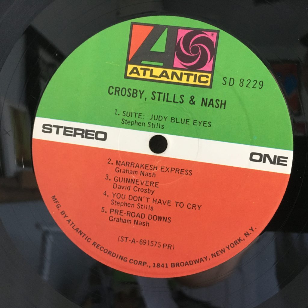Classic Atlantic Label for CSN