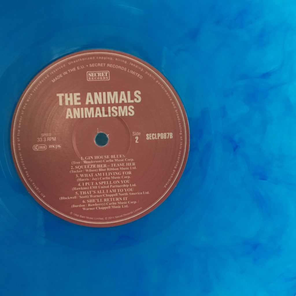 Animalisms on colored vinyl