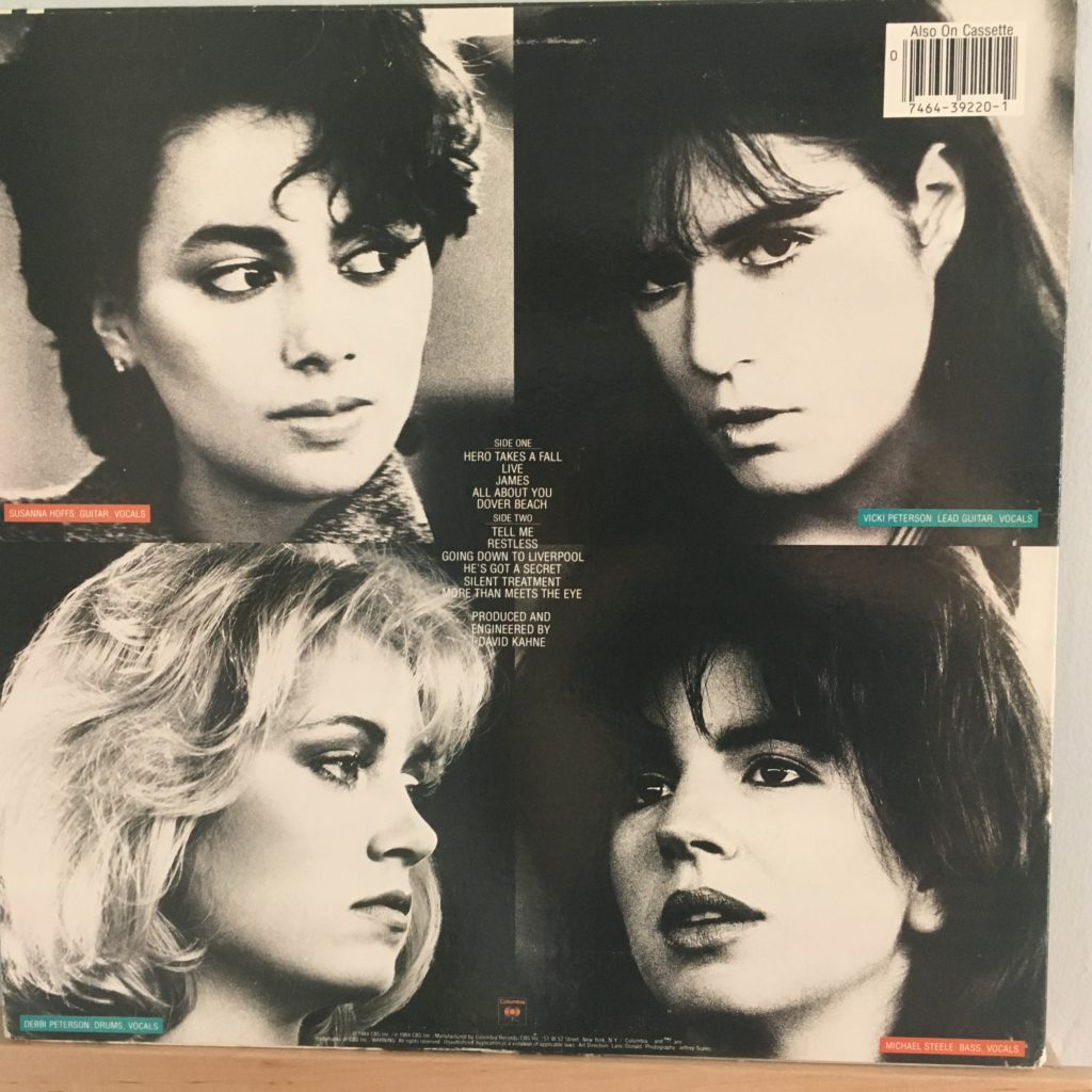 Bangles All Over The Place back cover