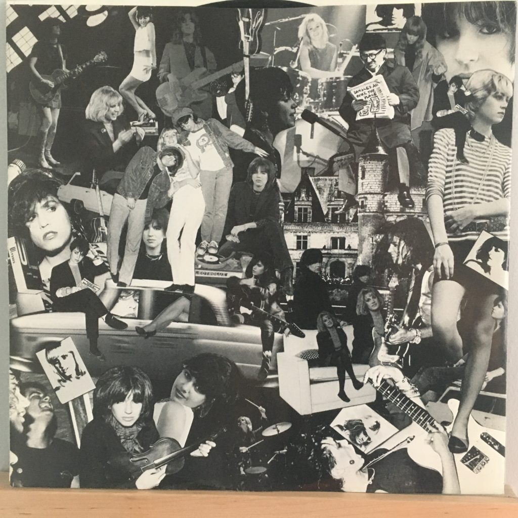 All Over The Place picture sleeve