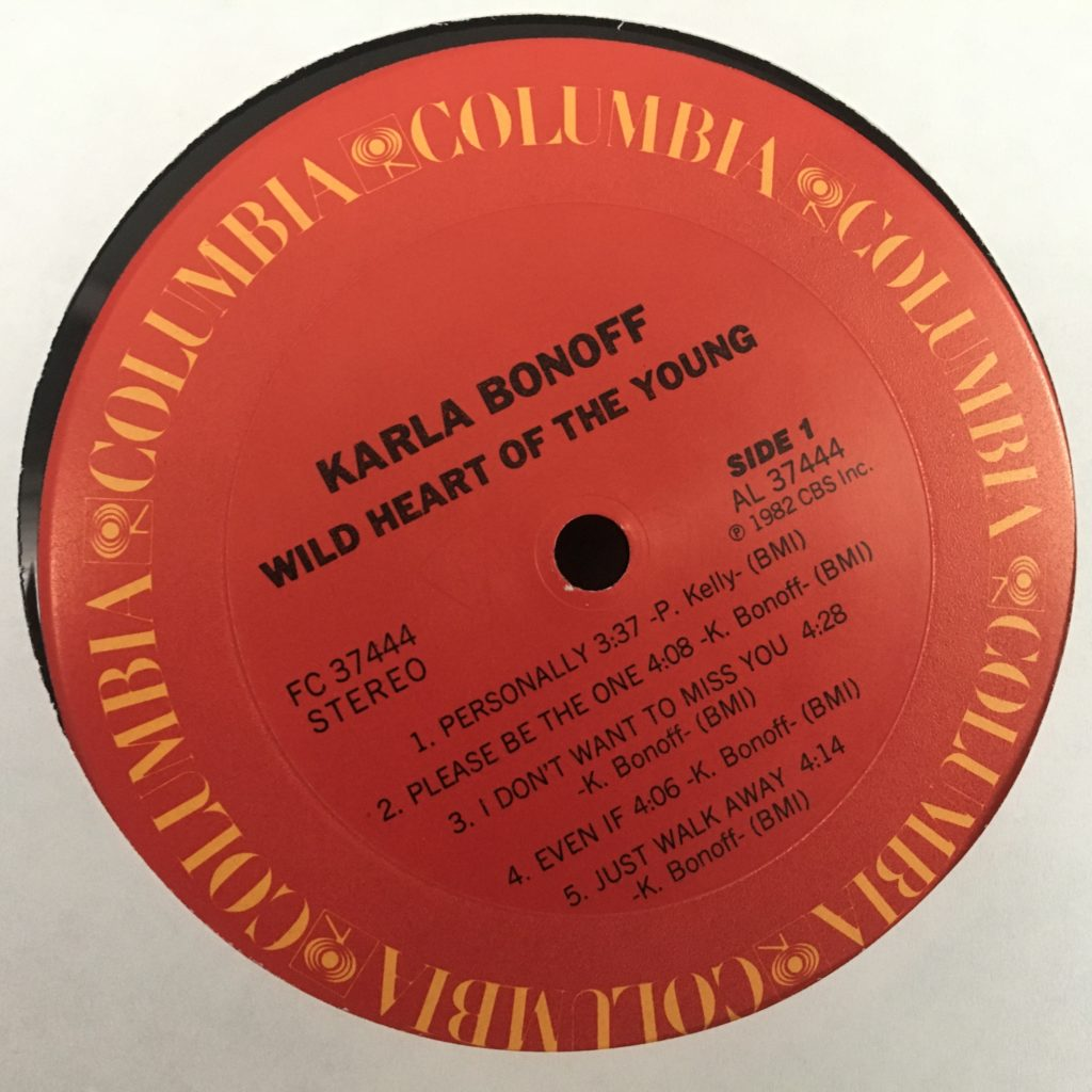 Wild Heart of the Young Columbia label