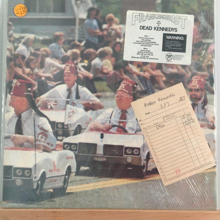 Frankenchrist front cover