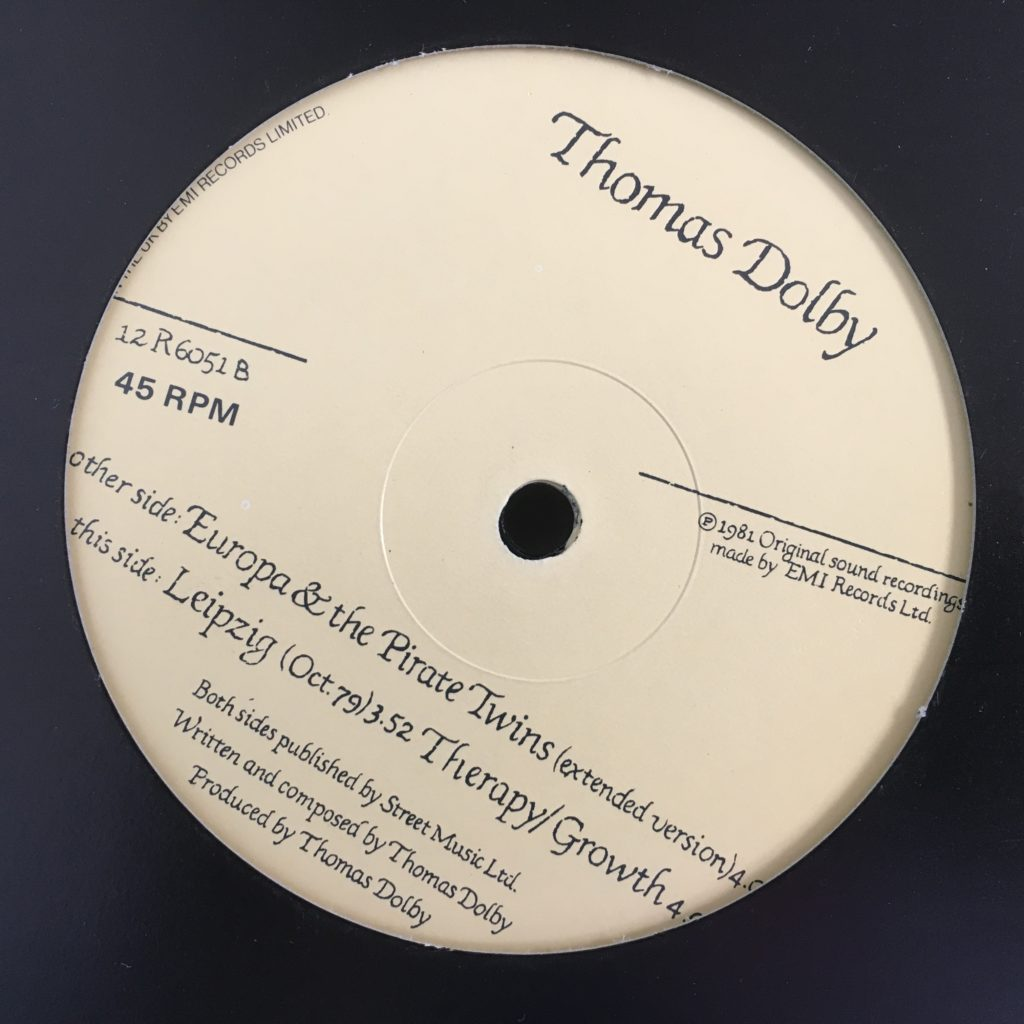 Europa / Leipzig / Therapy label
