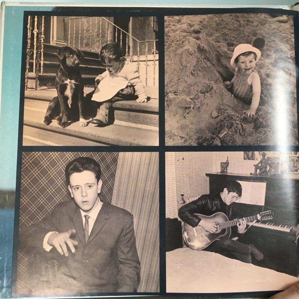 Photos of young Donovan Leitch