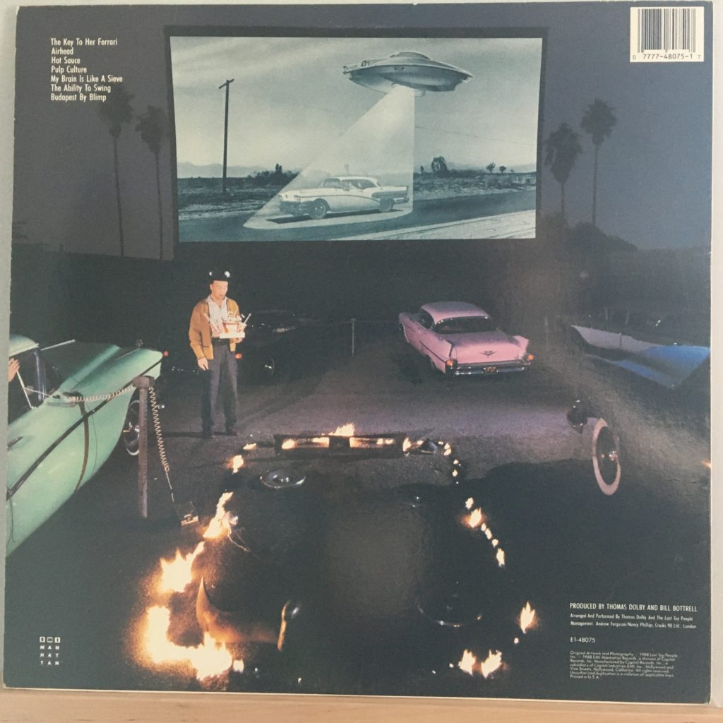 Aliens Ate My Buick back cover