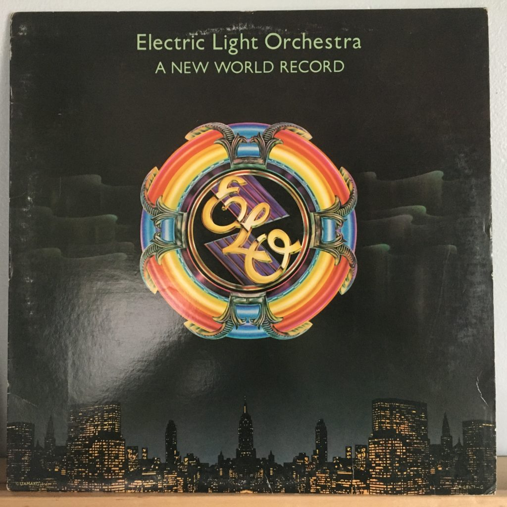 ELO New World Record front cover