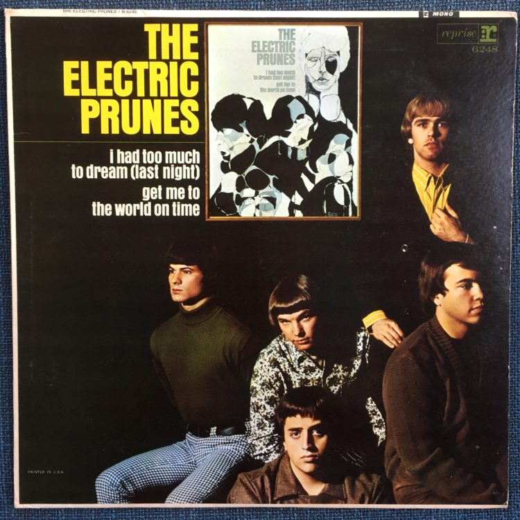 The Electric Prunes front cover