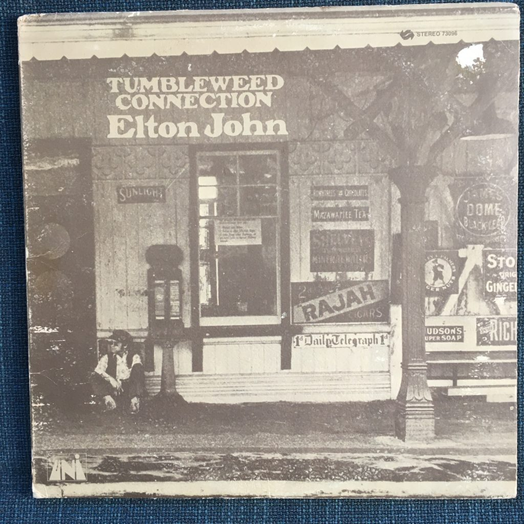 Tumbleweed Connection front cover