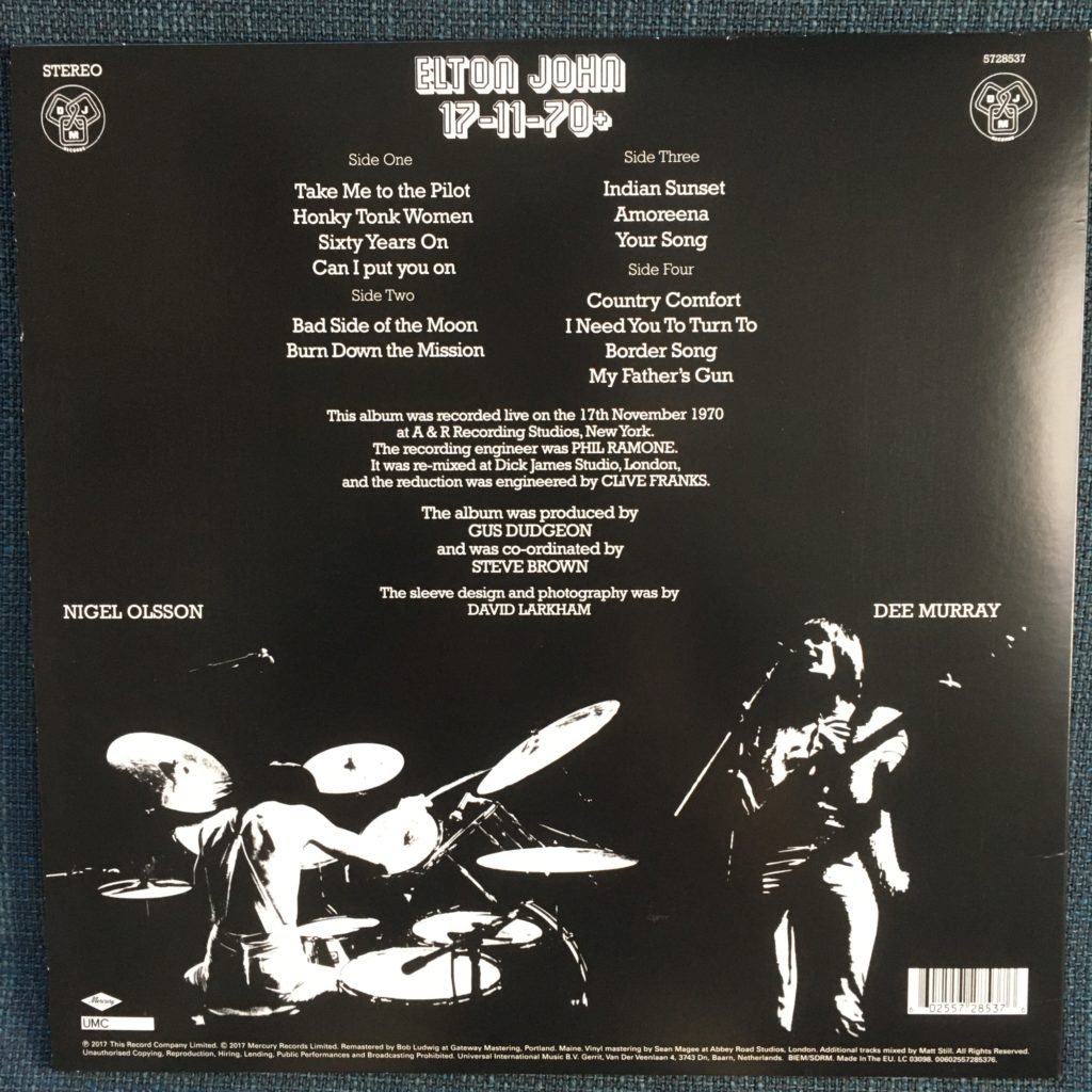 17-11-70+ RSD edition back cover