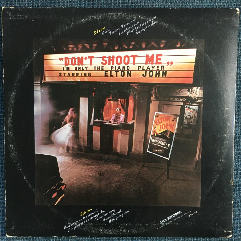 Don't Shoot Me back cover