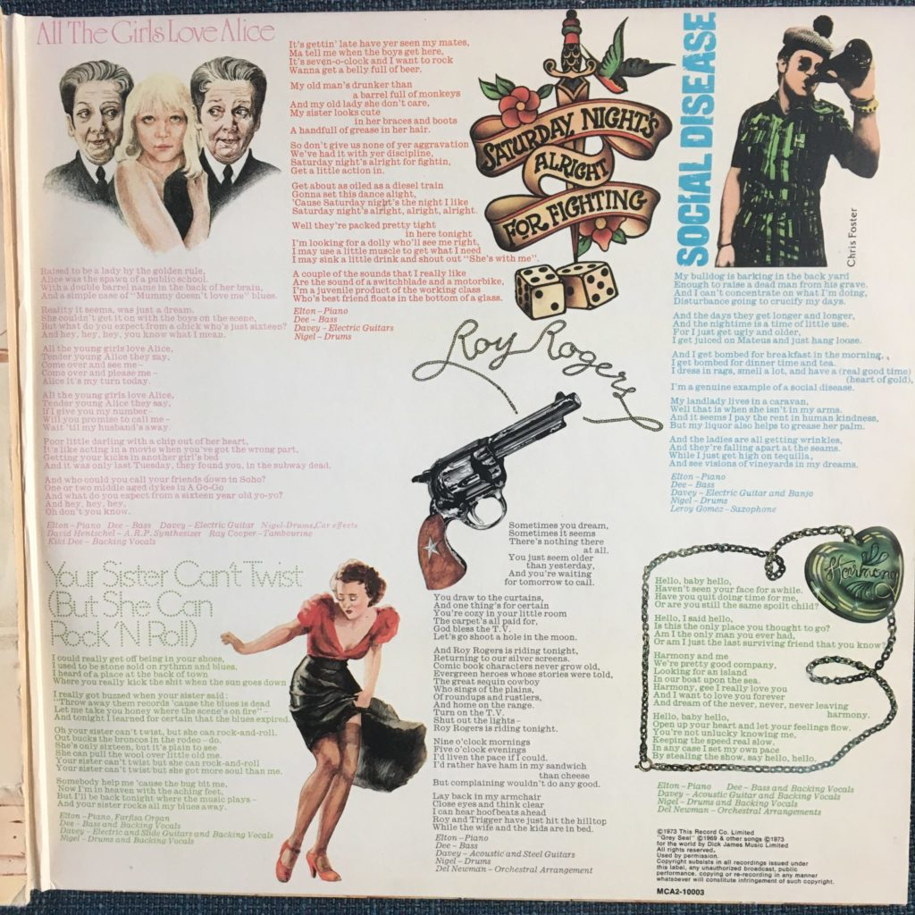 GYBR lyrics panel 3