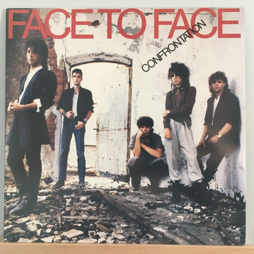 Face to Face Confrontation album cover