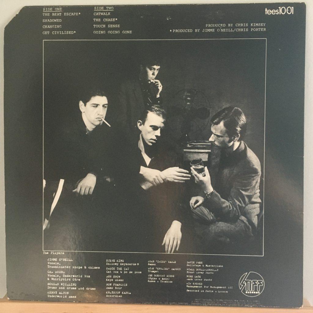 Beat Noir back cover