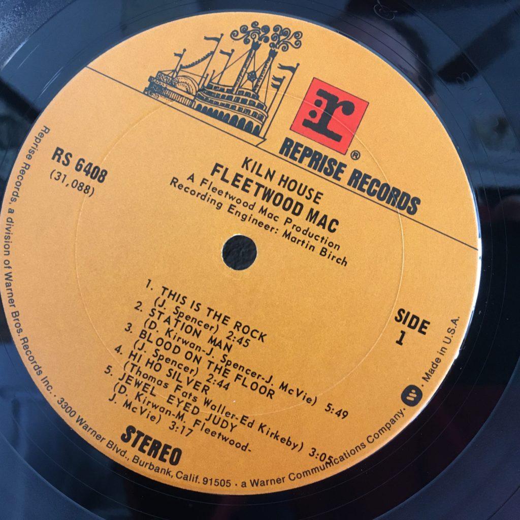 Kiln House Reprise label