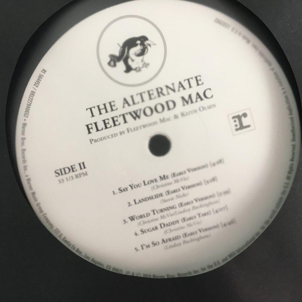Alternate Fleetwood Mac label