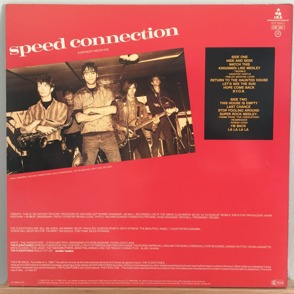 Speed Connection back cover