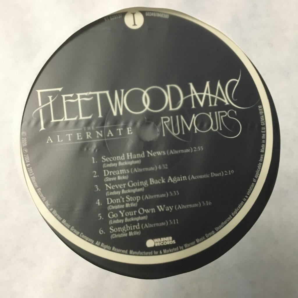 Alternate Rumours label