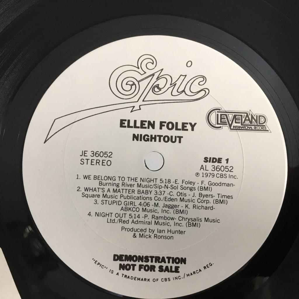 Nightout label