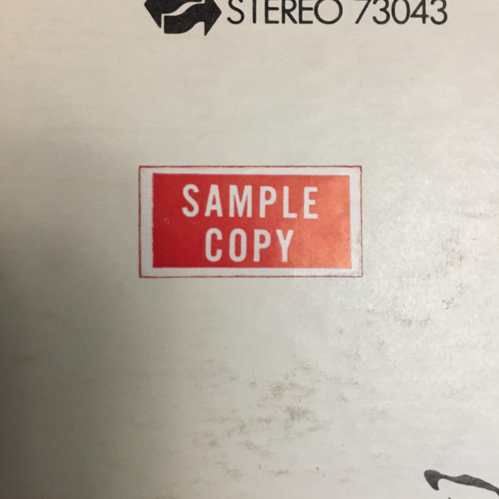 Sample Copy sticker