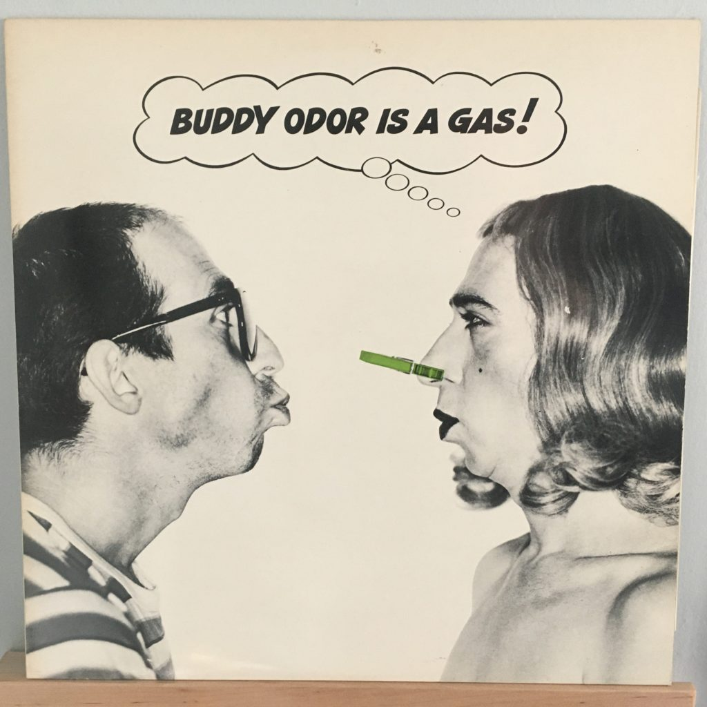 Buddy Odor is a Gas front cover