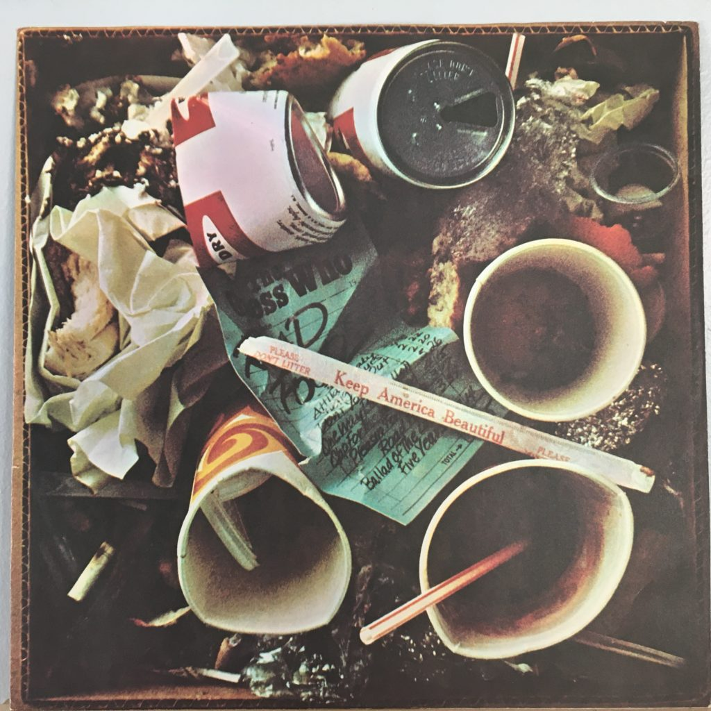 Road Food picture sleeve