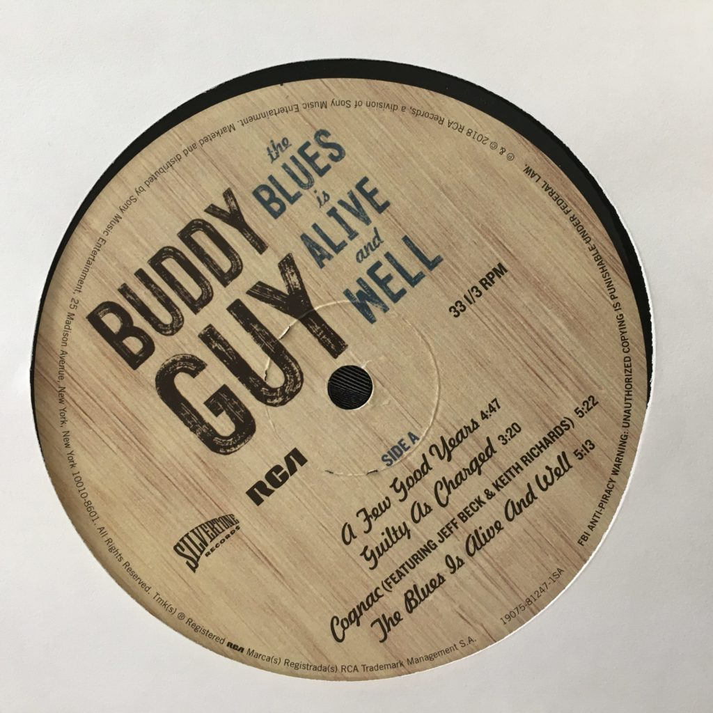 Blues Is Alive and Well custom label