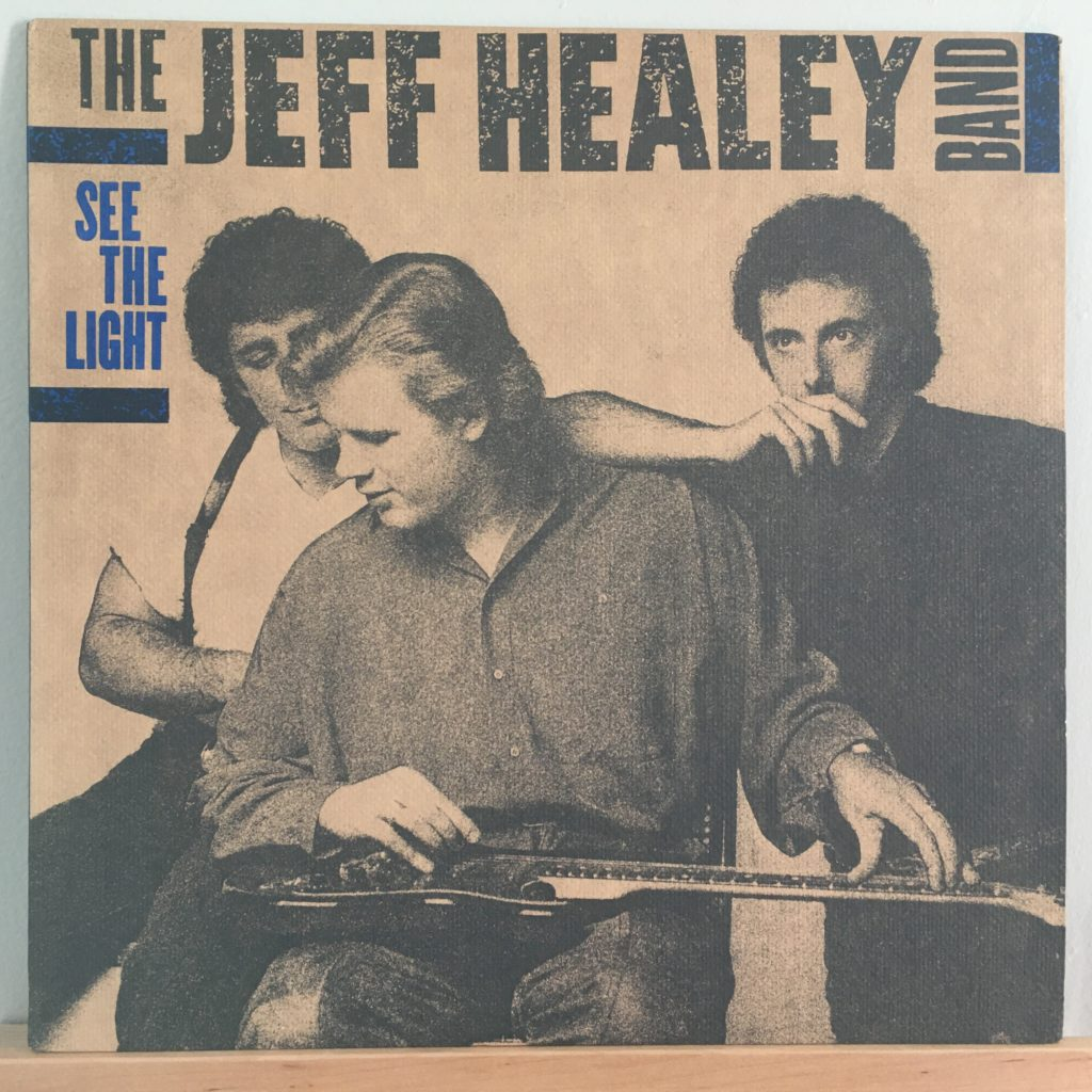 Jeff Healey Band front cover