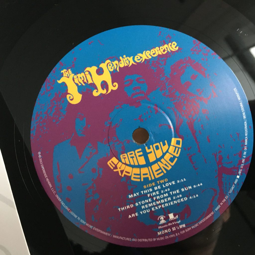Are You Experienced Legacy label