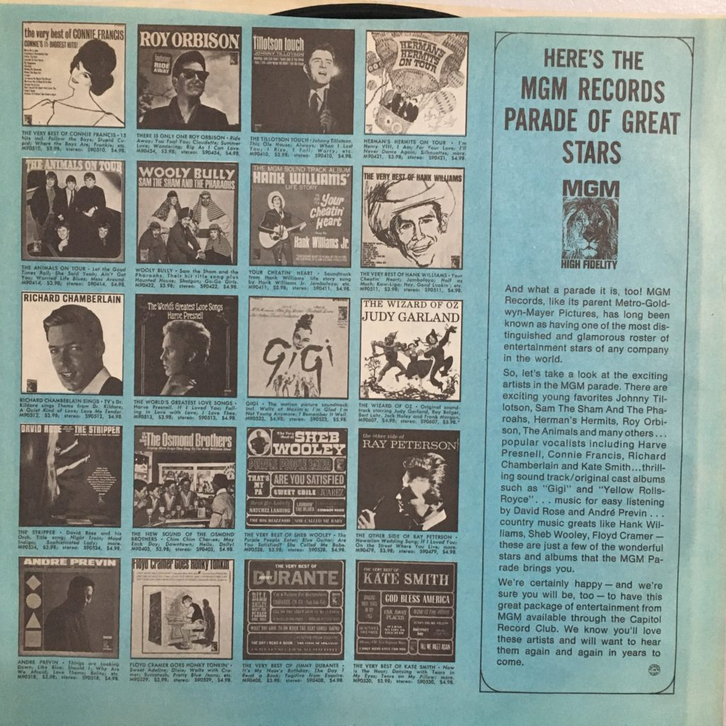 MGM Records Parade of Great Stars