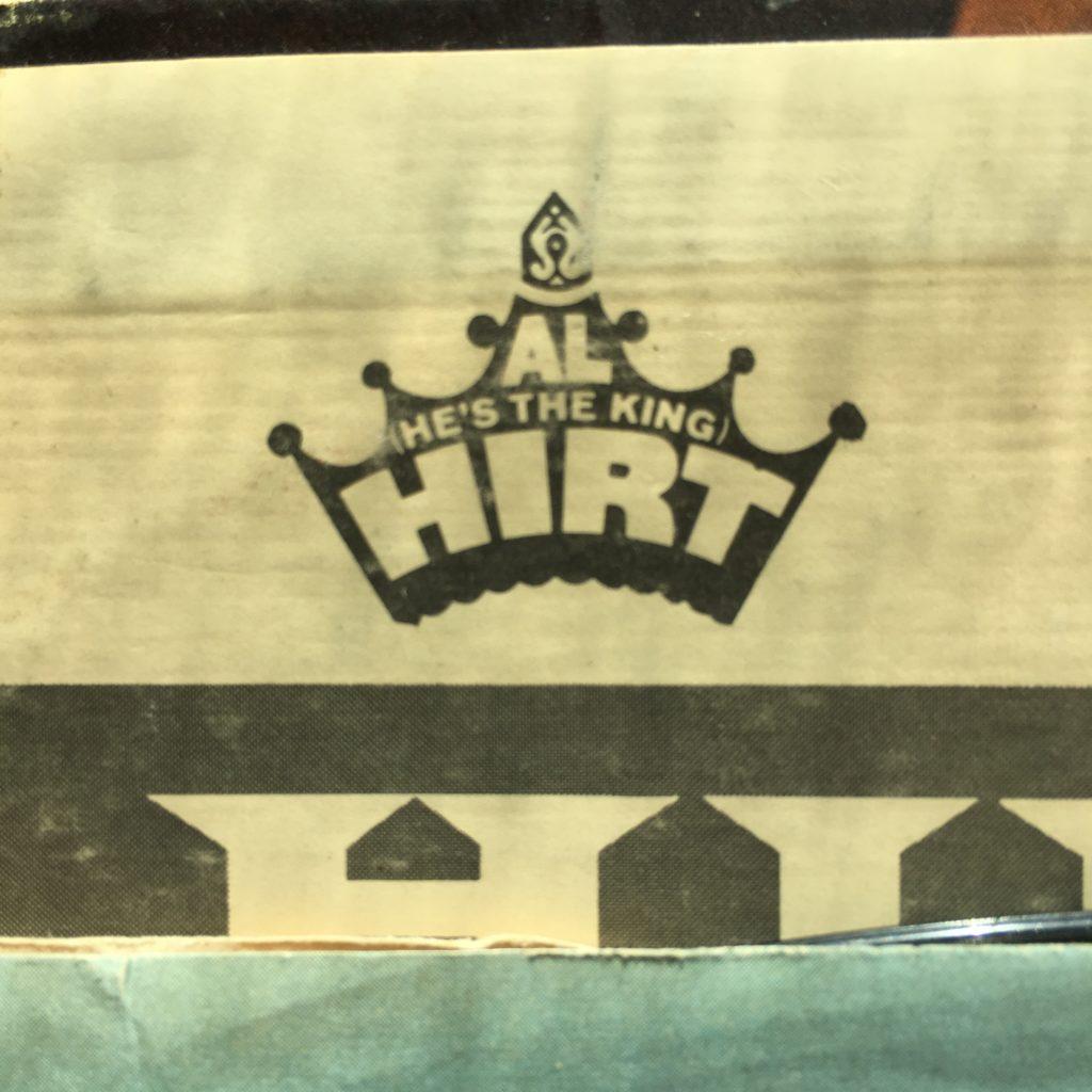 Al He's the King Hirt logo