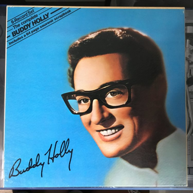 The Complete Buddy Holly box set cover