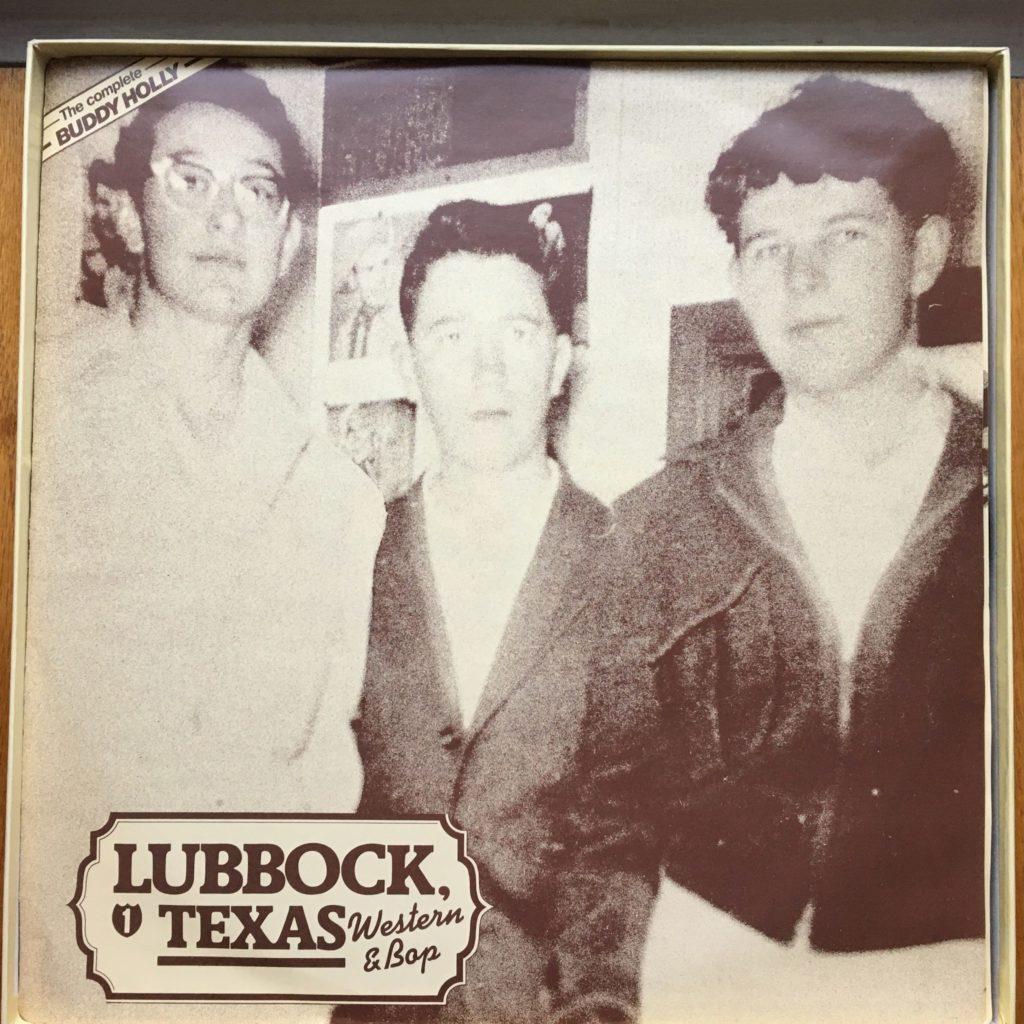 Buddy Holly sleeve 1: Lubbock