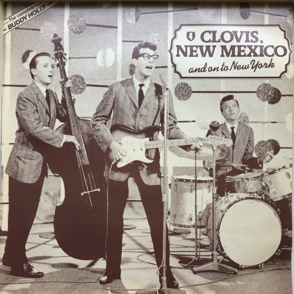 Buddy Holly sleeve 4: Clovis, NM
