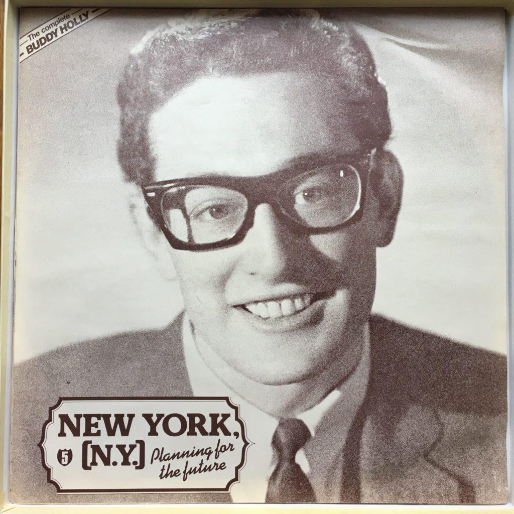 Buddy Holly sleeve 5: New York, NY