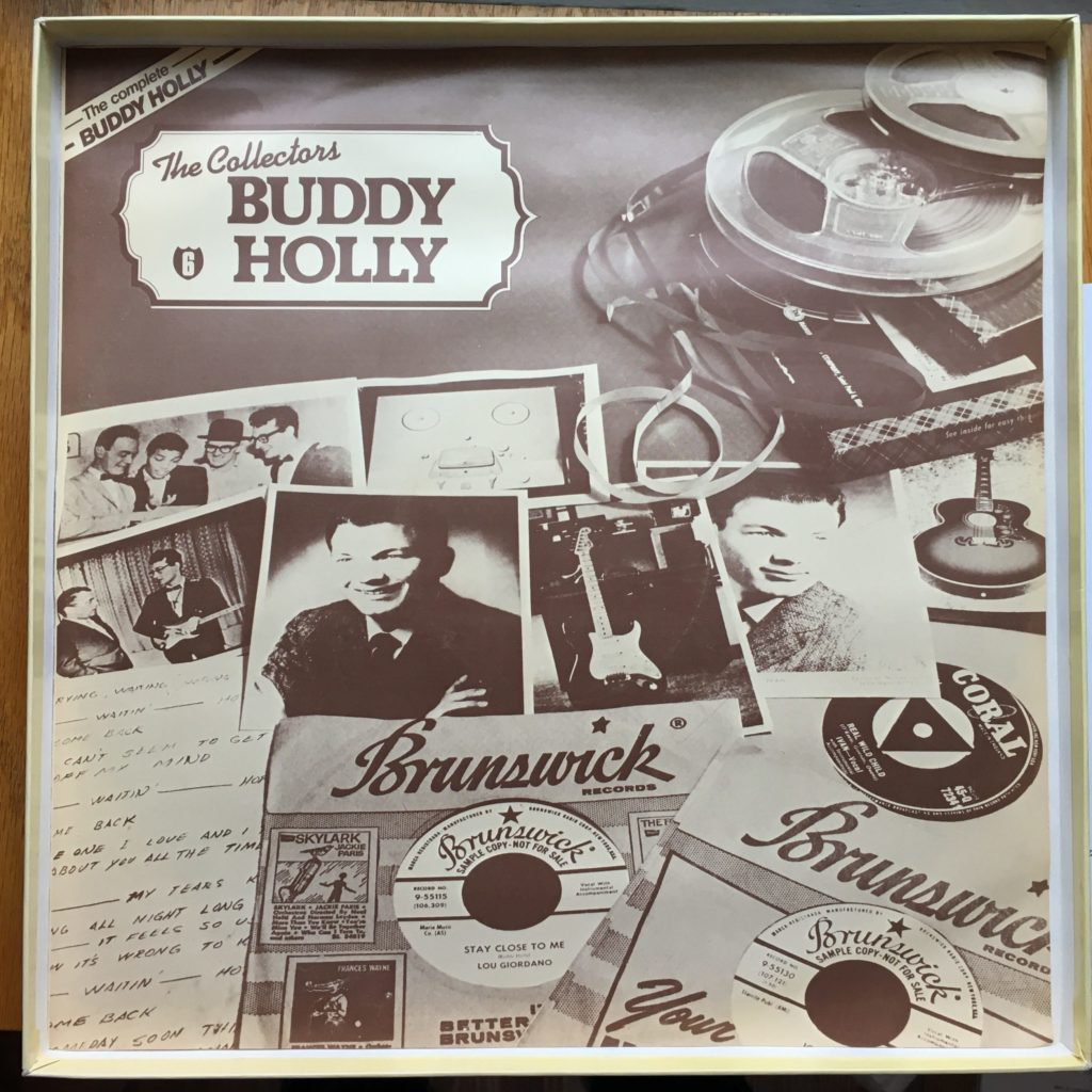Buddy Holly sleeve 6: The Collectors Buddy Holly