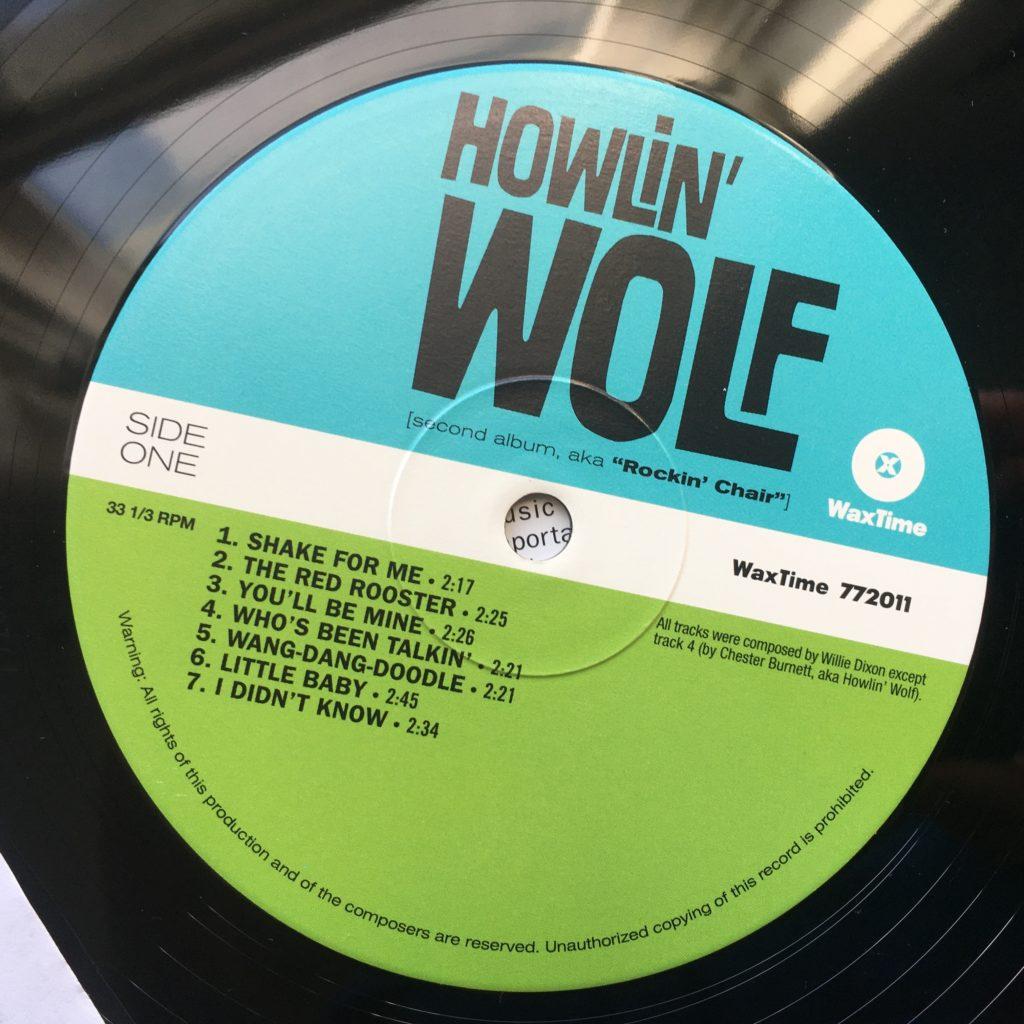 Howlin' Wolf label