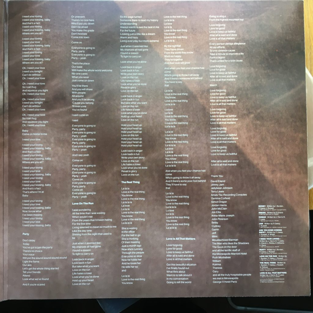 Crash gatefold right