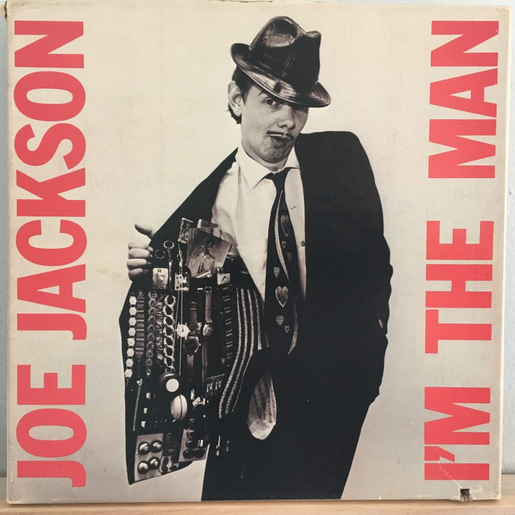 "Joe Jackson I'm The Man 7"" box"