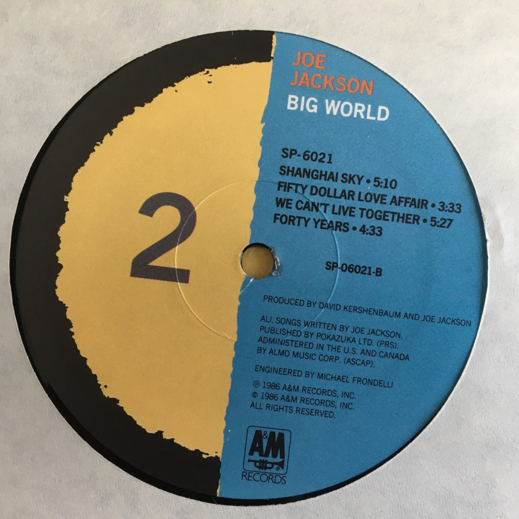 Big World label side 2