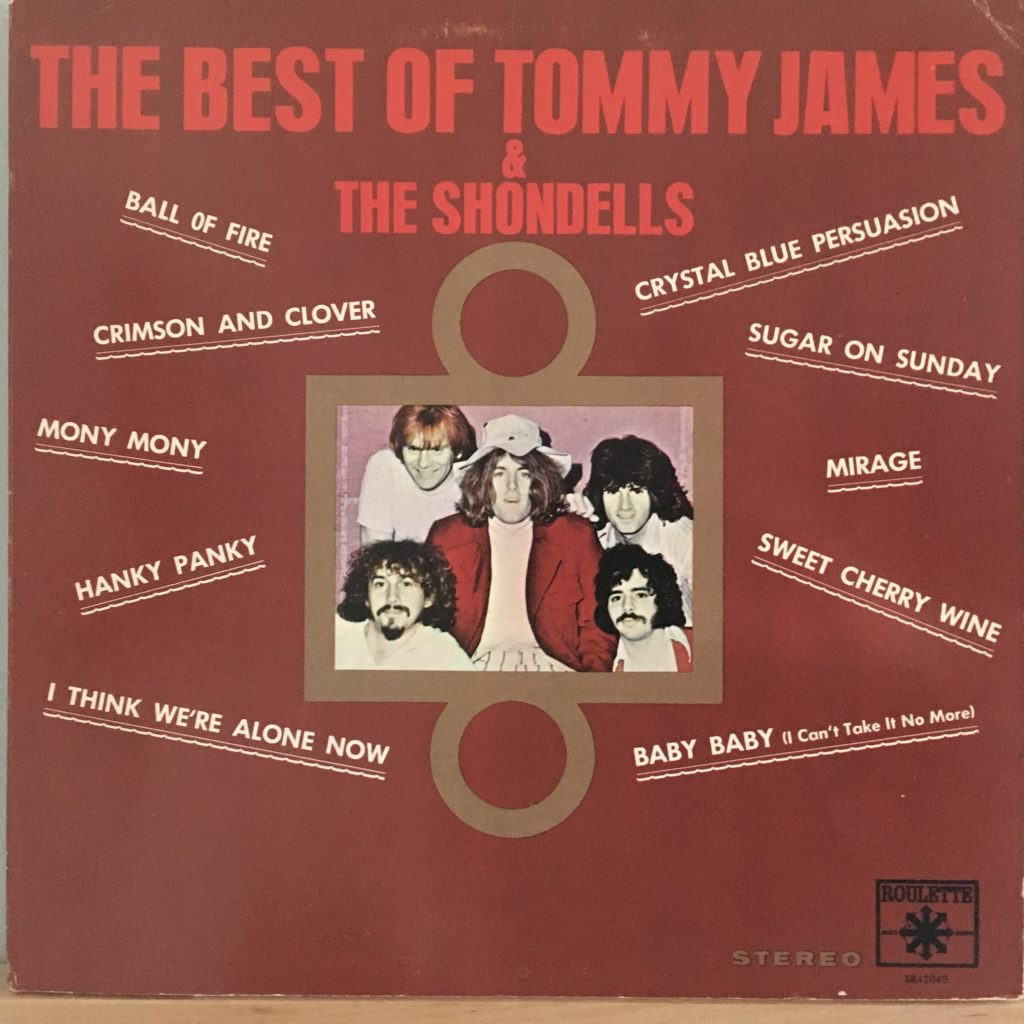 The Best of Tommy James & The Shondells front cover