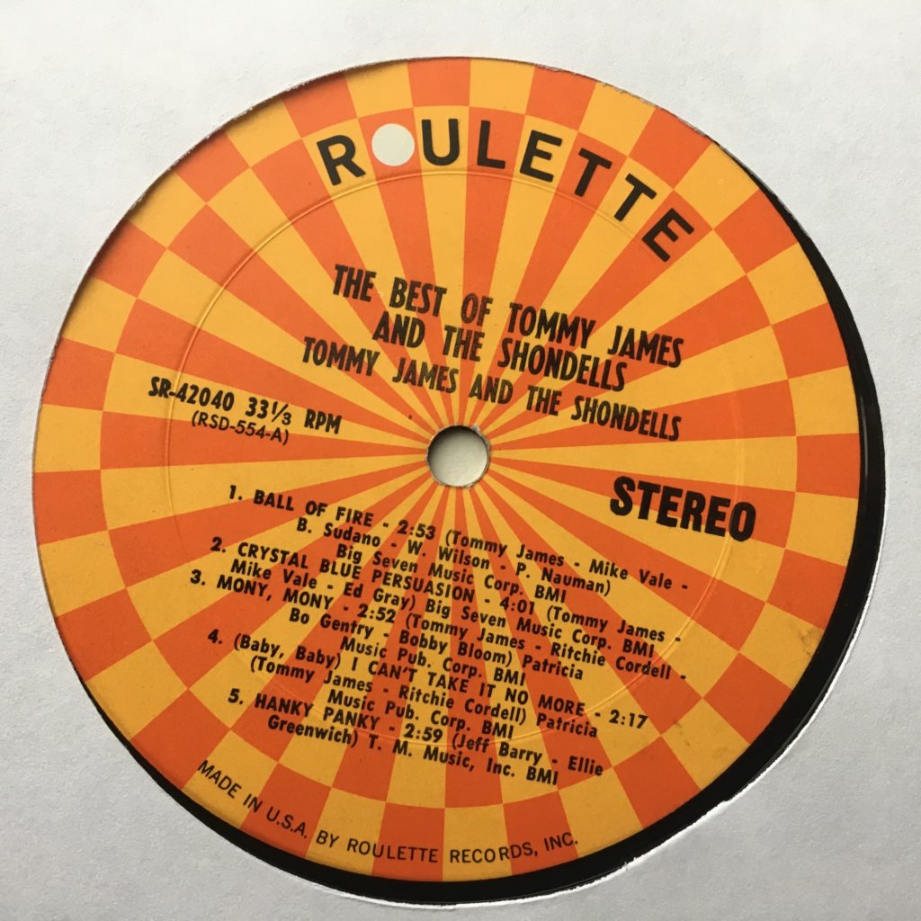 Best of Roulette label