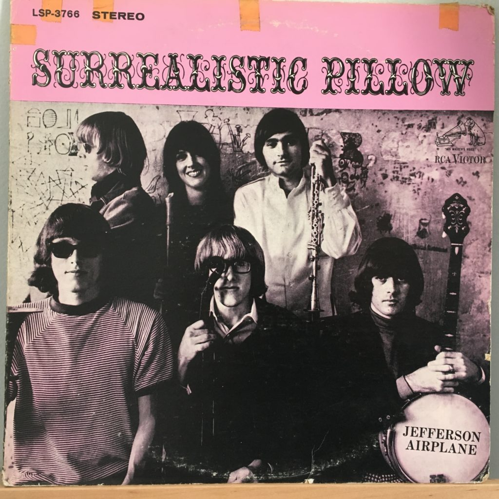 Surrealistic Pillow front cover