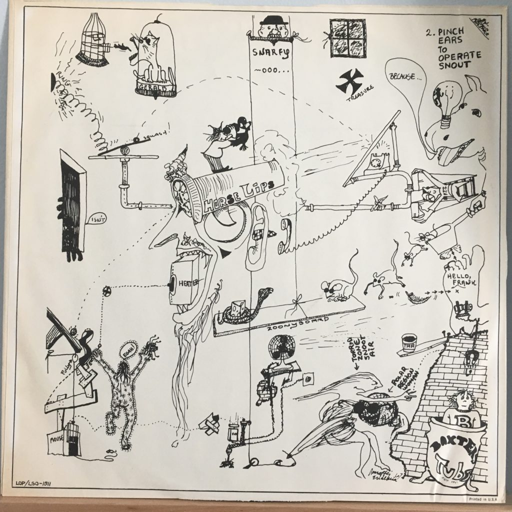 Baxter's picture sleeve