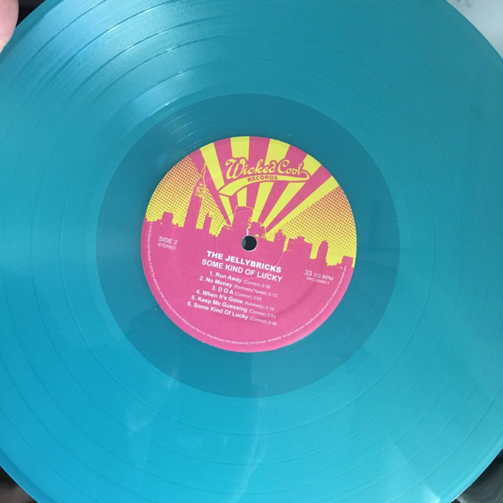Jellybricks colored vinyl