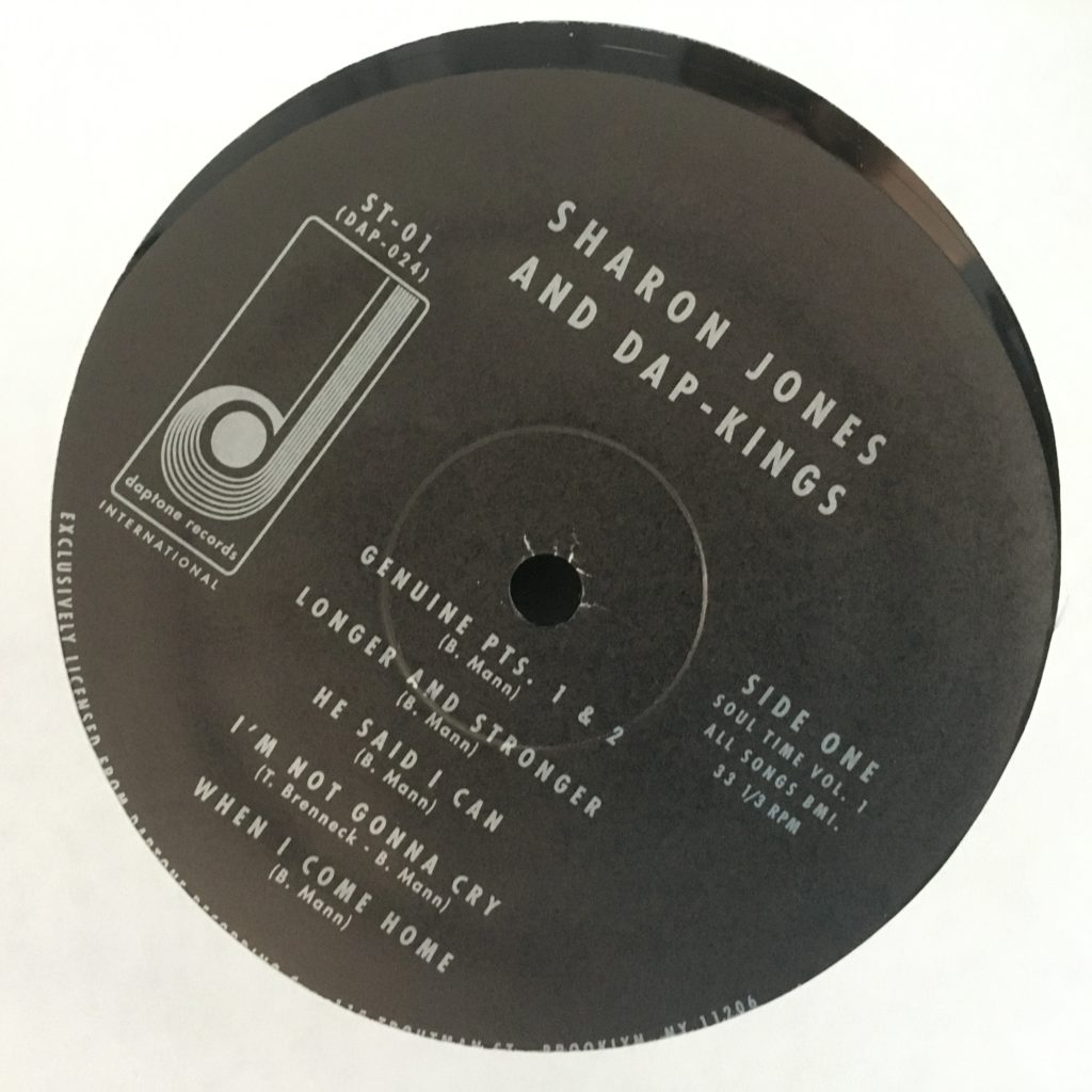 An understated label for Sharon Jones and the Dap-Kings