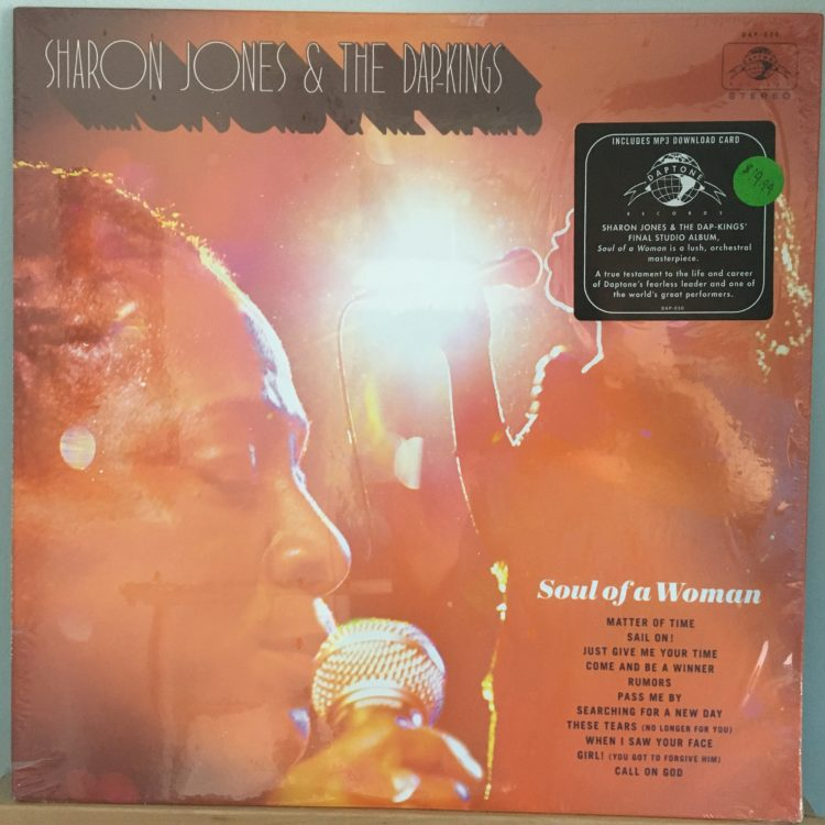 Sharon Jones & The Dap-Kings Soul of a Woman front cover