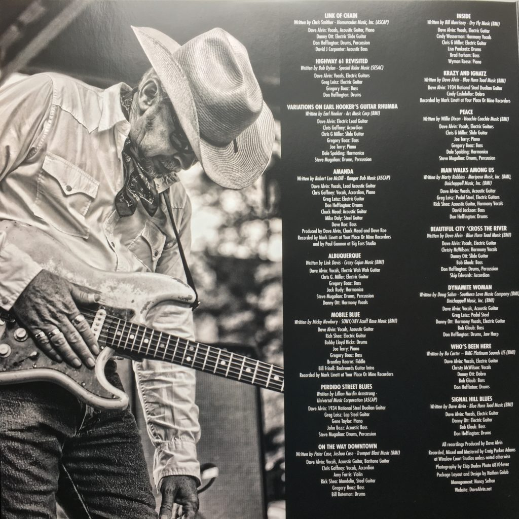From An Old Guitar gatefold