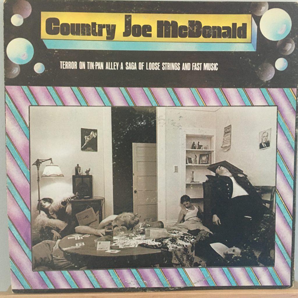 Country Joe McDonald solo back cover