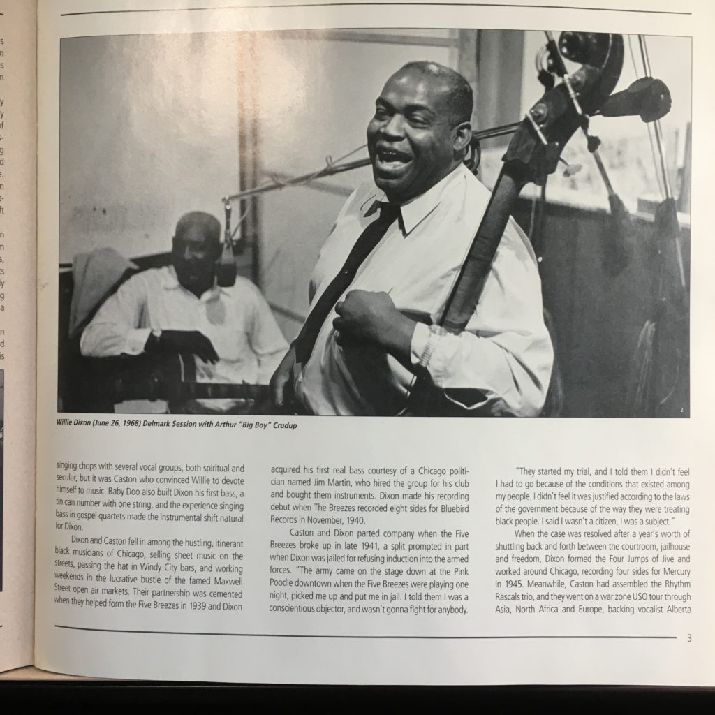 Willie Dixon – The Chess Box Booklet