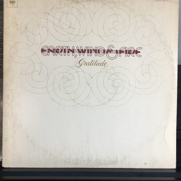 Earth Wind & Fire Gratitude album cover
